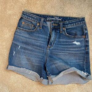 Universal Thread High Waisted Jean Shorts